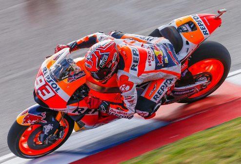 MotoGP. Гран-при Аргентины. Маркес — лучший на второй прктике
