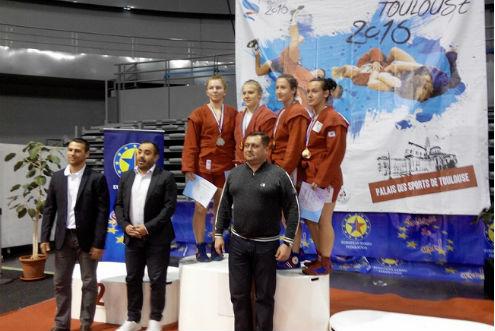 Самбо. Ковальская и Москалева — чемпионки Европы