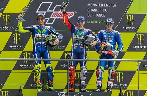 MotoGP. Гран-при Франции. Лоренсо одержал победу, Росси – второй