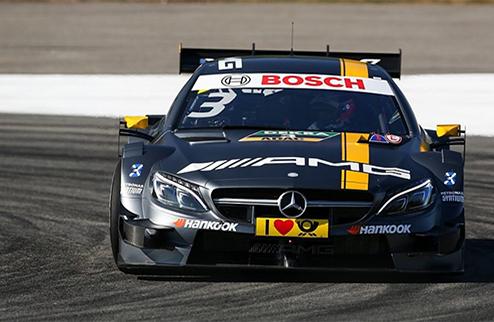 DTM. Ди Реста выиграл вторую гонку в Хоккенхайме