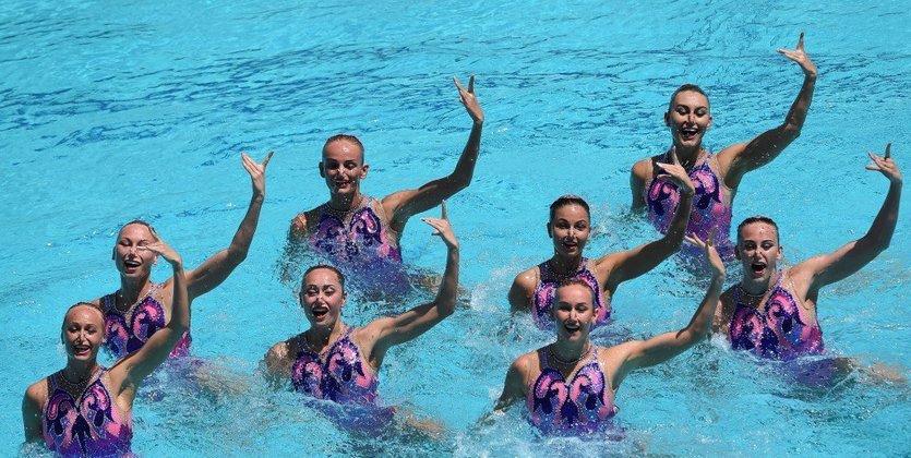 Синхронное плавание. Украина берет золото на Чемпионате Европы!