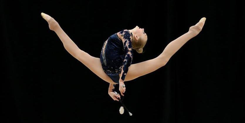 Художественная гимнастика. Украинка добыла два золота на турнире в Канаде