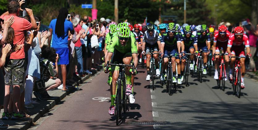 Джиро д'Италия. Юнгельс вырывается в лидеры генеральной классификации