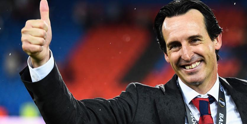 Эмери стал вторым тренером который выиграл три Лиги Европы  Кубка УЕФА