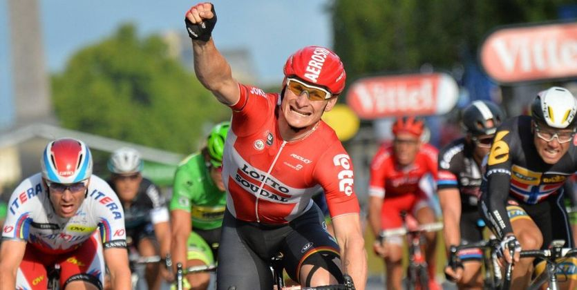 Джиро д'Италия. Грайпель побеждает на 12-м этапе.