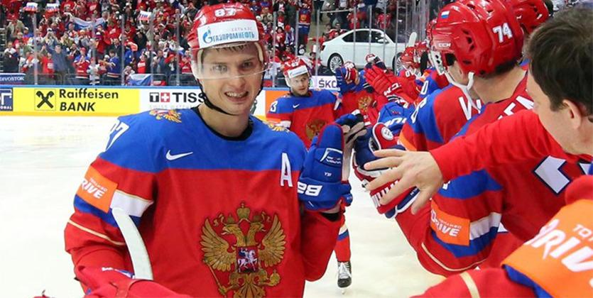 ЧМпохоккею: сборная РФ вышла вполуфинал