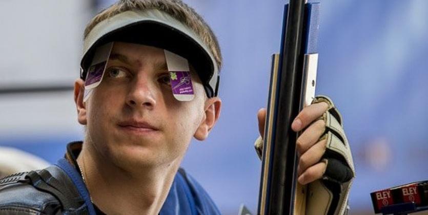 Сергей Кулиш - бронзовый призер Кубка мира по пулевой стрельбе