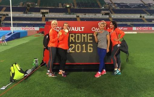 Лёгкая атлетика. Украинки выиграли эстафету в Риме