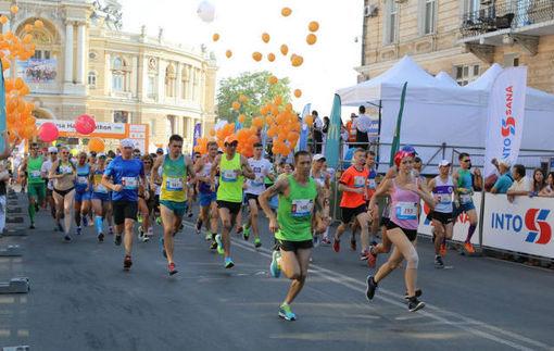 Юрий Грицак победитель международного полумарафона Odesa Half Marathon 2016