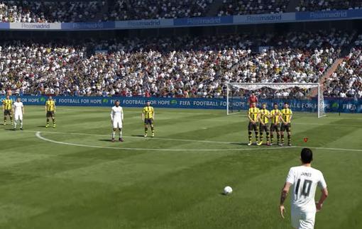 Дж. Родригес показал новую систему исполнения стандартов в FIFA 17