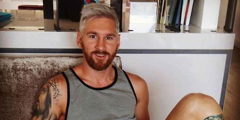 Лидер «Барселоны» Лионель Месси стал седым