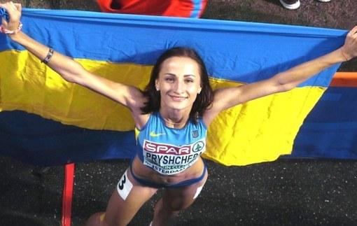 Прищепа - лучшая спортсменка июля