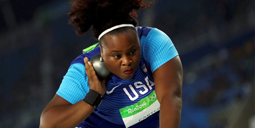 Американка Мишель Картер завоевала золото ОИ-2016 втолкании ядра