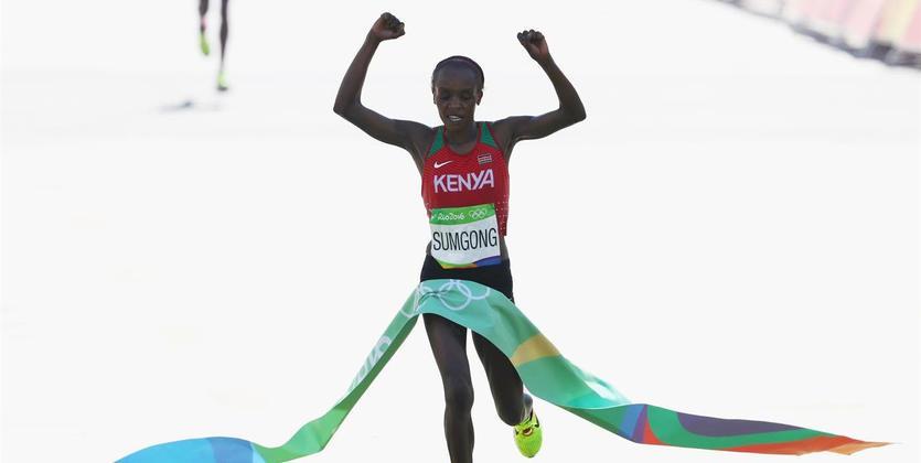 Рио-2016: Марафон выиграла кенийка, лучшая изукраинок была 33-й