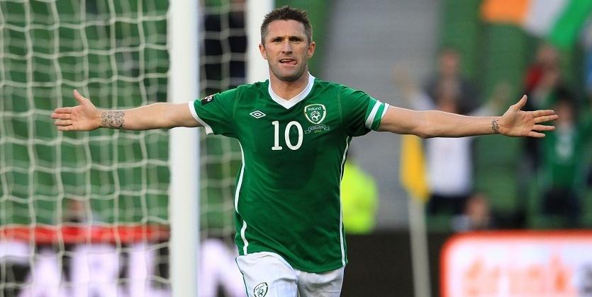 Ирландский футболист Робби Кин объявил озавершении карьеры всборной