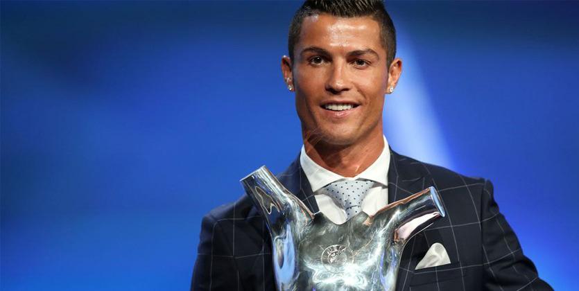 Криштиану Роналду стал лучшим игроком поверсии УЕФА