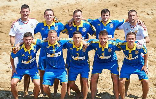 Пляжный футбол. Украина - чемпионы Европы!