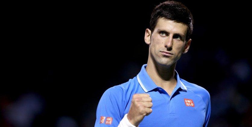 Новак Джокович вышел в ½ финала Открытого чемпионата США потеннису