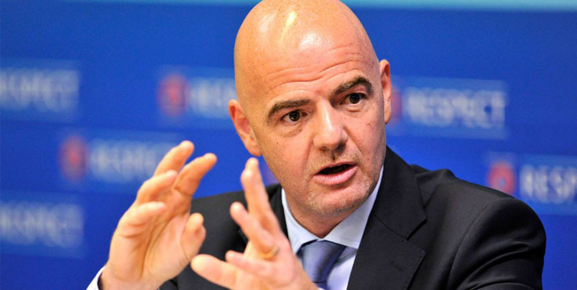 ФИФА задумалась очемпионате мира в 3-х государствах для 40 сборных