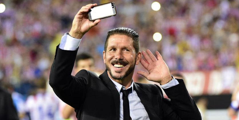 Симеоне уйдет из«Атлетико» через два года
