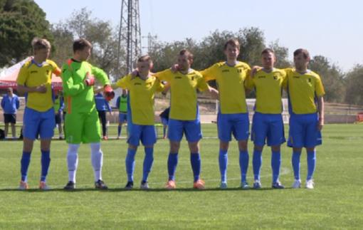 Украинские футболисты-паралимпийцы в финале Игр в Рио