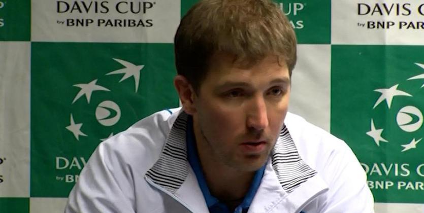 Сборная Украины потеннису несмогла пробиться вМировую группу Кубка Дэвиса