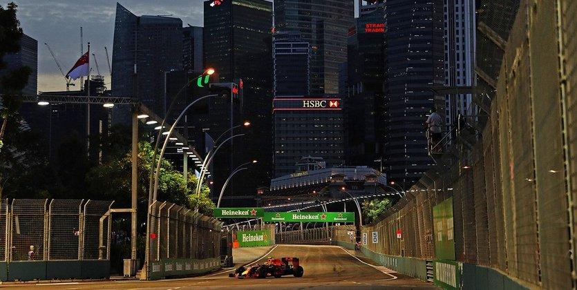Житель россии Квят занял 7-е место вквалификации Гран-при Сингапур