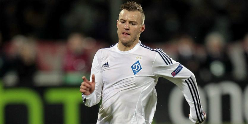 Нападающий киевского «Динамо» Ярмоленко получил рецидив травмы спины