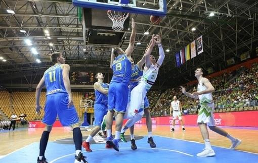 Евробаскет-2017. Квалификация. Украина снова уступает Словении