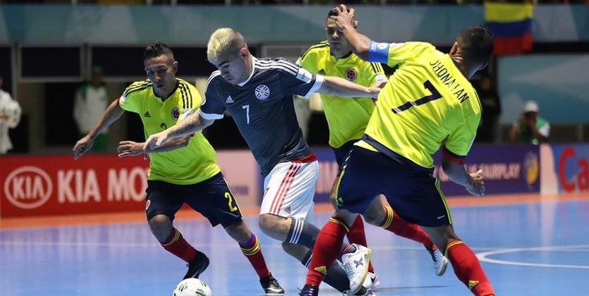 Футзал. ЧМ-2016. Парагвай и Россия первые четвертьфиналисты