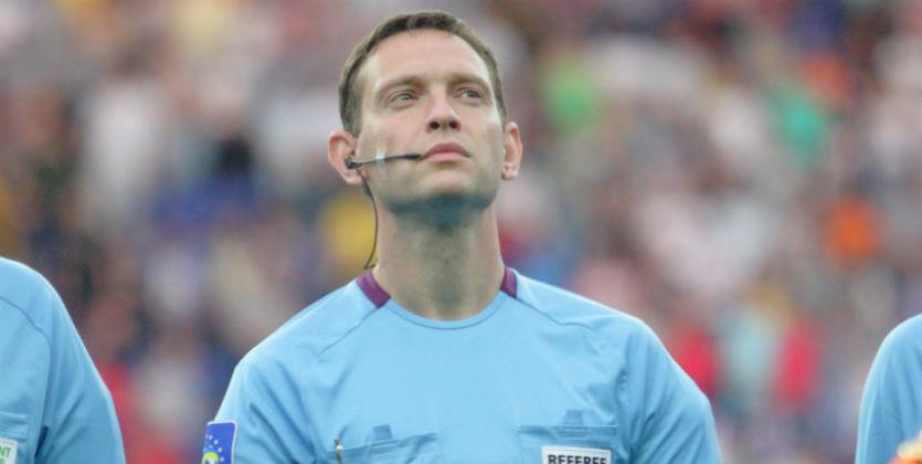 Украинский арбитр обслужит матч группового этапа Лиги Европы