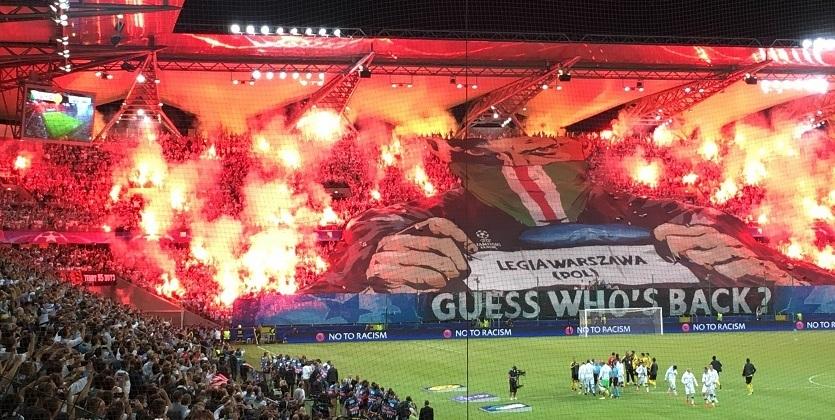 УЕФА наказал Легию: матч сРеалом без зрителей