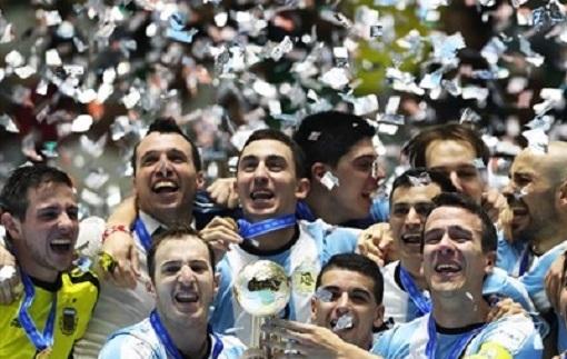 Футзал. ЧМ-2016. Аргентина бьет Россию в финале