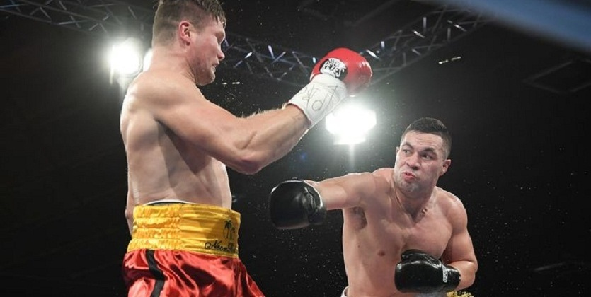 Джозеф Паркер одержал досрочную победу над Александром Димитренко