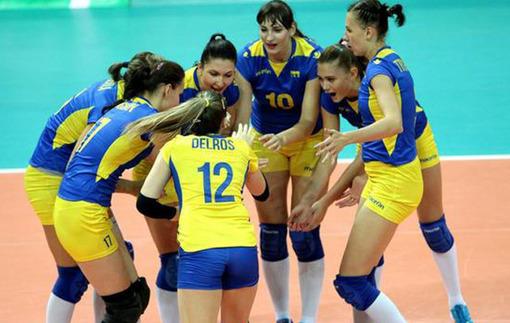 Украинские волейболистки пробились на Евро