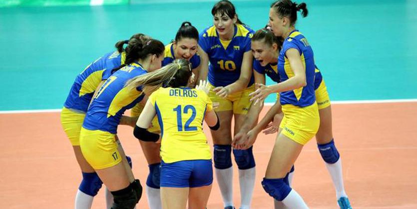 Женская сборная Украины поволейболу вышла в заключительную часть чемпионата Европы