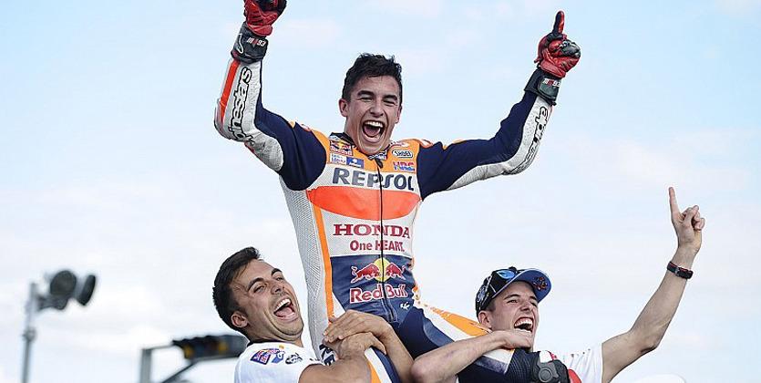 Маркес оформил победу ититул-2016 вЯпонии. MotoGP