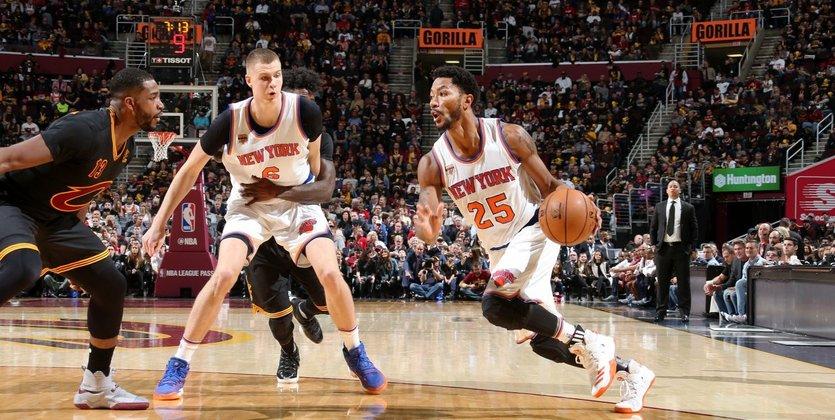 «Кливленд» обыграл «Нью-Йорк» встартовом матче нового сезона НБА