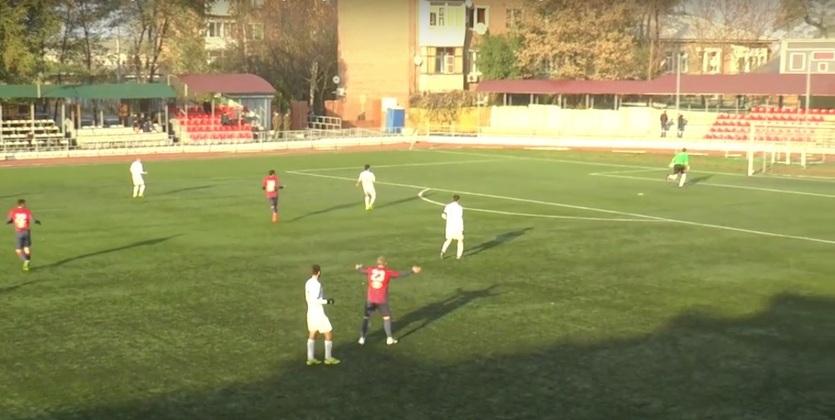 Вратарь ростовского СКА забил победный мяч ударом от собственных ворот