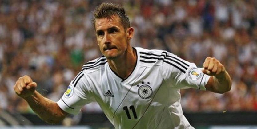 Мирослав Клозе завершил карьеру и будет тренером всборной Германии