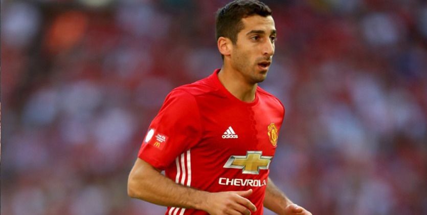 Мхитарян вышел наполе всоставе «Манчестер Юнайтед» после практически двухмесячного перерыва