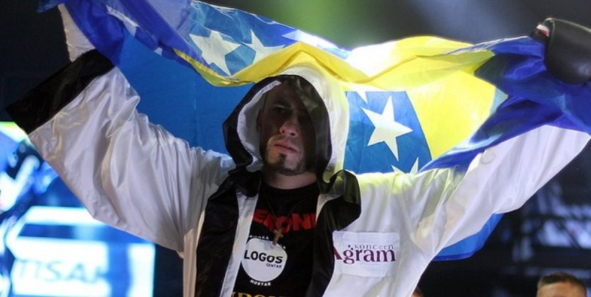 Боснийский боксер Бельйо отказался отбоя сАлександром Усиком