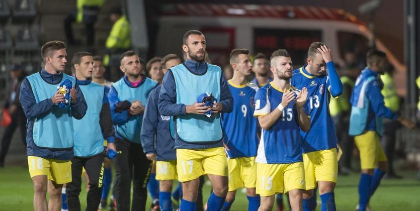 Двум игрокам сборной Албании разрешили играть заКосово— ФИФА