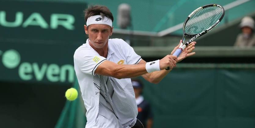 Украинец Стаховский вышел во 2-ой раунд теннисных состязаний вСловакии