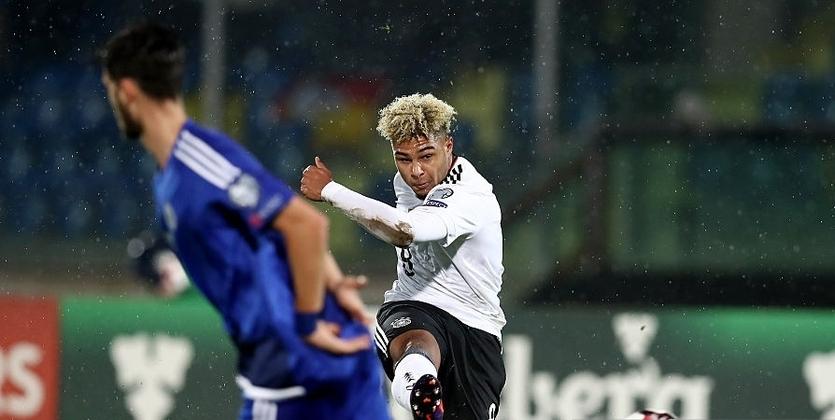 Сборная Германии забила восемь безответных мячей вворота Сан-Марино