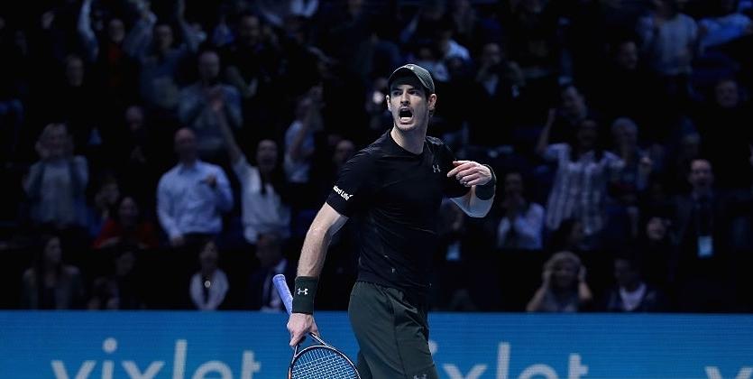Маррей обыграл Вавринку ивывел Нисикори вполуфинал Итогового турнира ATP
