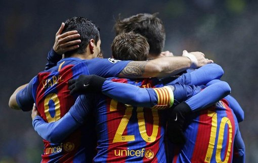 Селтик - Барселона. Обзор матча