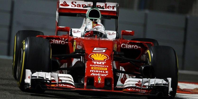 Формула-1. Гран-при Абу-Даби. Феттель — лучший в третьей тренировке