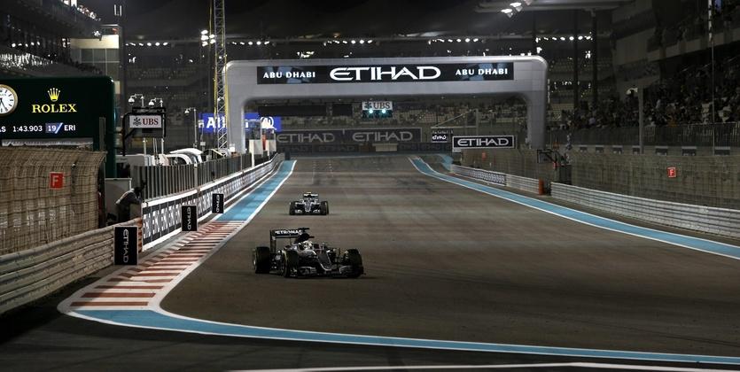 Формула-1. Гран-при Абу-Даби. Хэмилтон — на поуле в Яс-Марине!