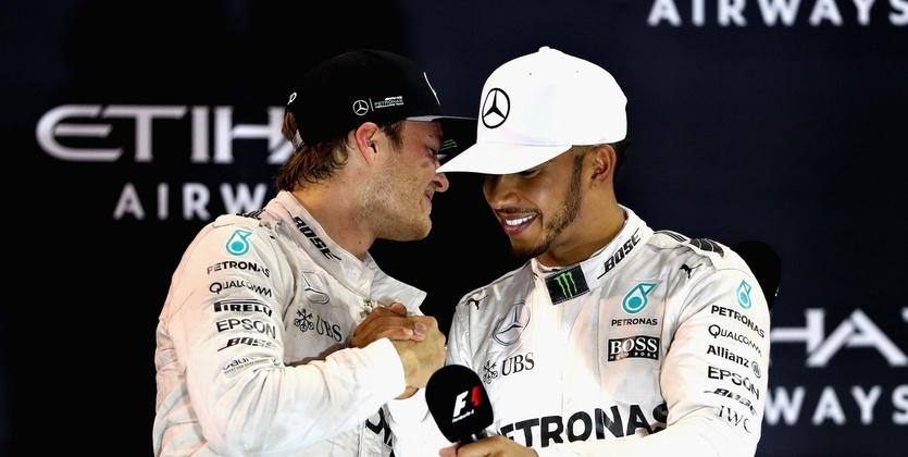 """Формула-1. Гран-при Абу-Даби. Хэмилтон: """"Я поздравляю Нико с его первым титулом!"""""""